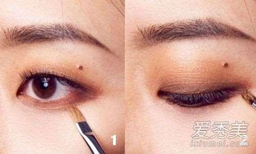 单眼皮、内双眼妆这样画!把握四个技巧打造时髦有神电眼!