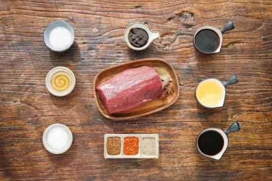 微波炉牛肉干的做法