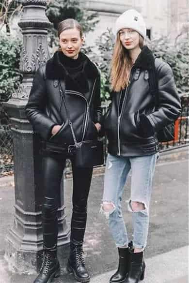 黑色马丁靴怎么搭配 帅气复古骑士风范