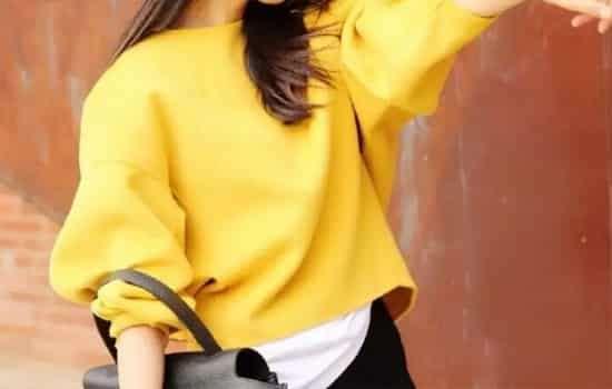 短款蝙蝠衫怎么搭配 清爽个性的时尚韵味