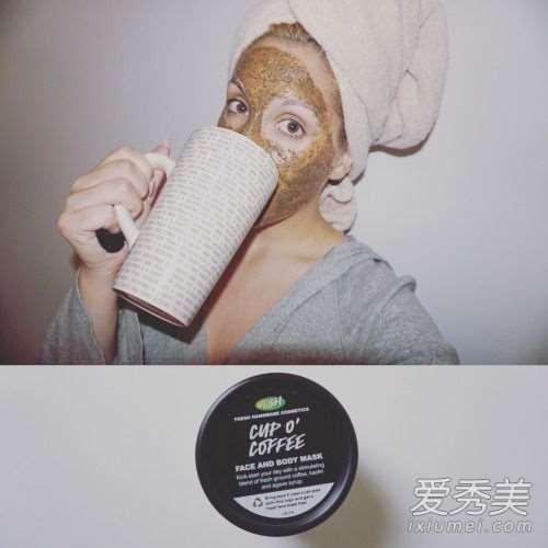 lush咖啡面膜怎么使用 lush面膜哪款好用_护肤品擦在脸上黏黏的