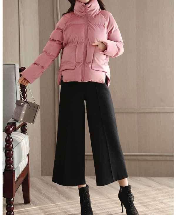 毛呢阔腿裤搭配 毛呢阔腿裤为什么在冬季如此流行