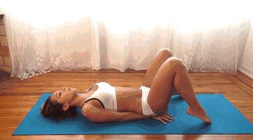 女生练腹肌的动作 这七个动作坚持两个月