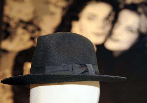迈克尔-杰克逊遗物拍卖预展