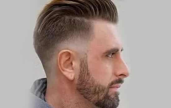 男生短发烫发两边短 时尚十足创意满分