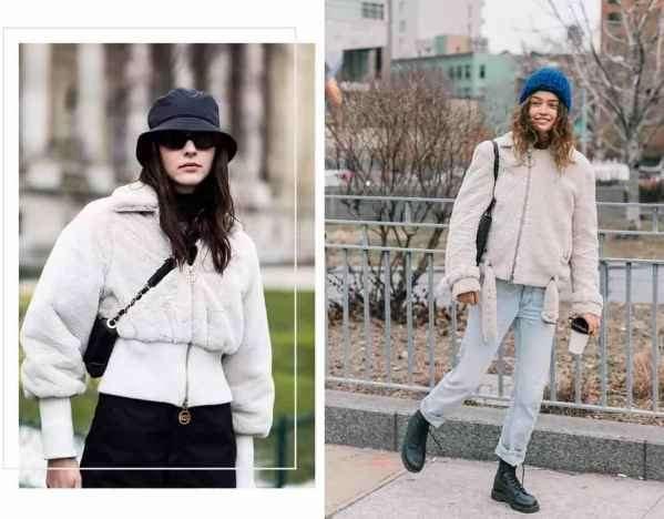 羊羔绒外套怎么搭配 冬季时髦精早就学会了