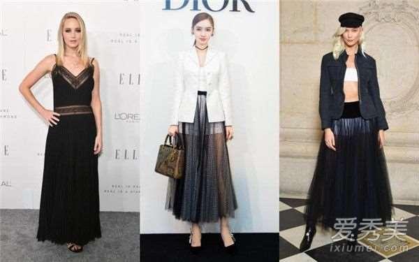 女星们纷纷着迷于Dior梦幻时尚艺术!2018新品每一款都美炸