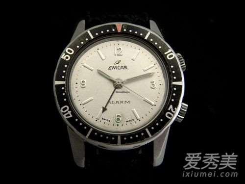 英纳格手表怎么调时间?