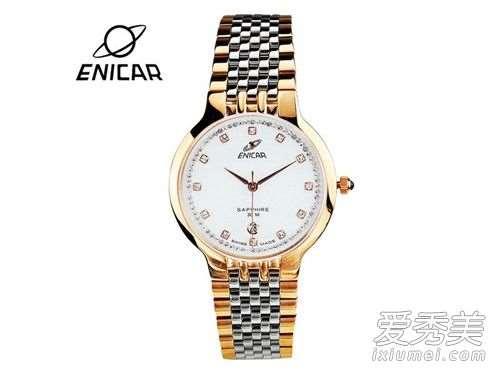 英纳格手表怎么上发条?