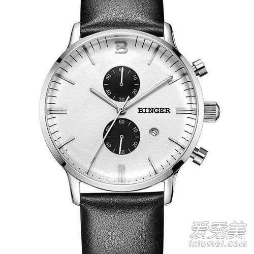 宾格手表怎么调时间?