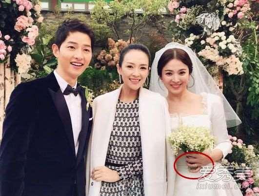 宋慧乔的婚戒是什么牌子 chaumet是什么档次牌子