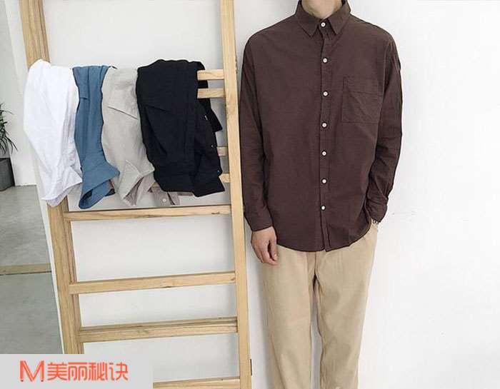 夏天男生衬衫搭配 随意又精致的气质