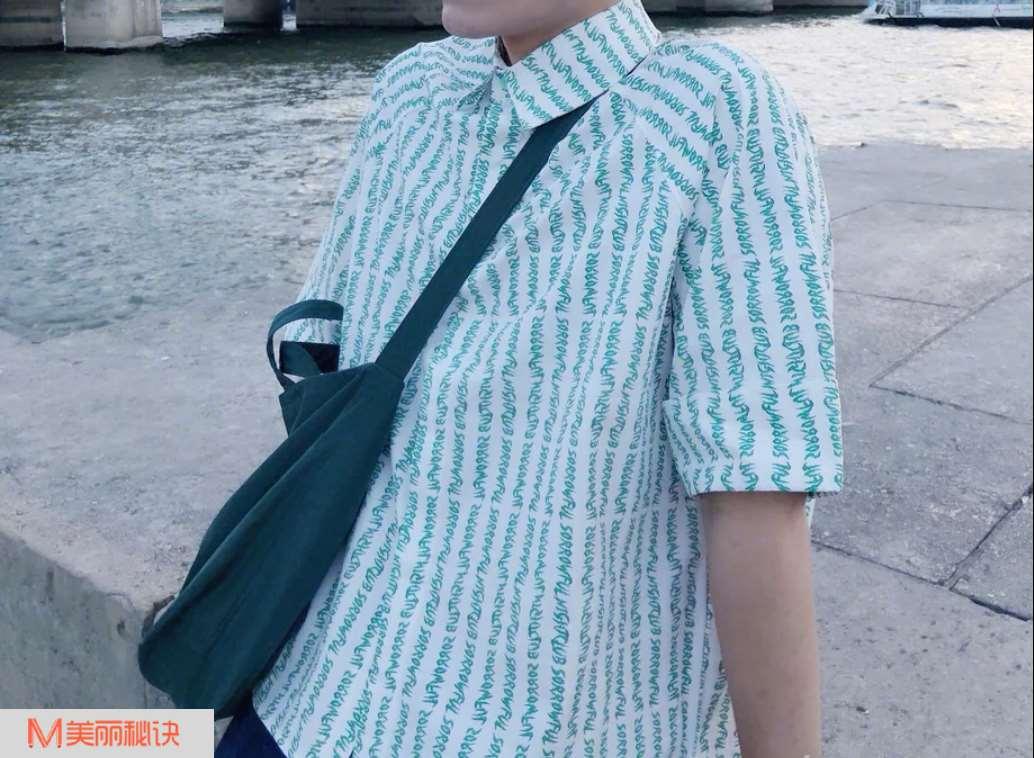 男生时尚衬衫搭配 夏季不可少的潮流单品