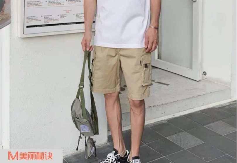 夏季男生五分裤搭配 凉爽又舒适的服装搭配