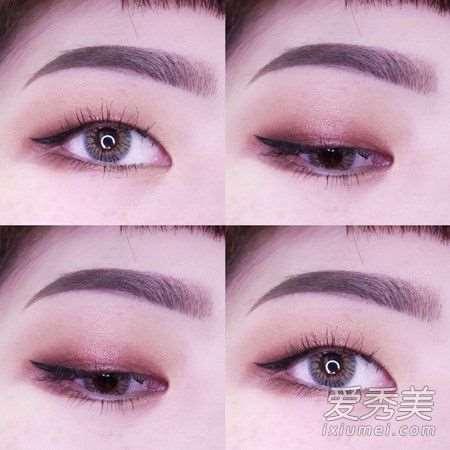 单眼皮怎么画眼线自然 初学者必看的超详细眼线攻略