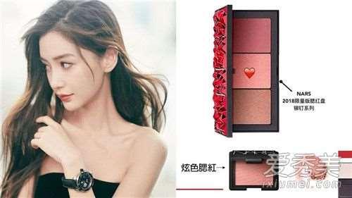 angelababy妆容教程 彩妆品牌和使用方法大公开