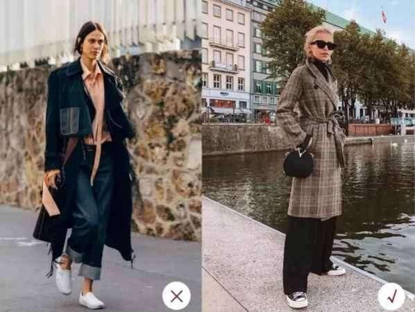 冬季阔腿裤搭配鞋 这样搭配时髦又有温度