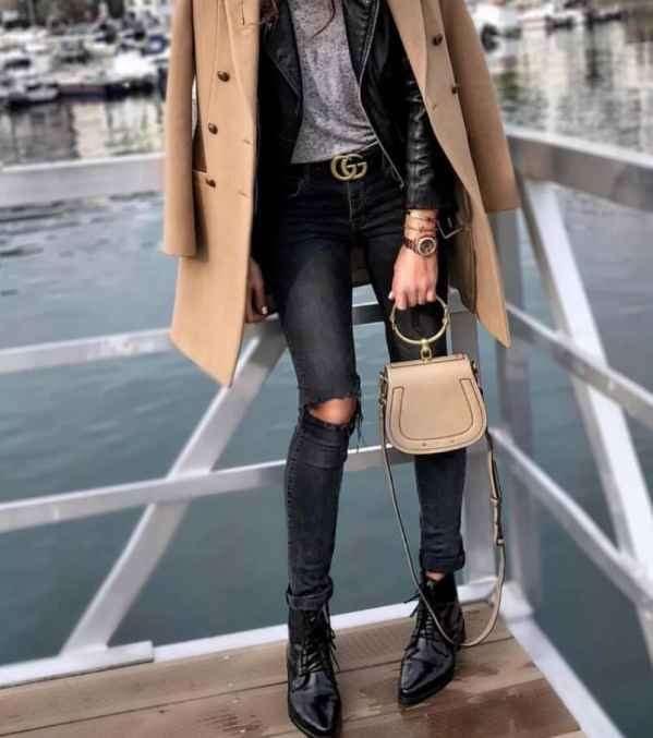 皮夹克搭配 6种搭法打造刚柔并济的炫酷造型