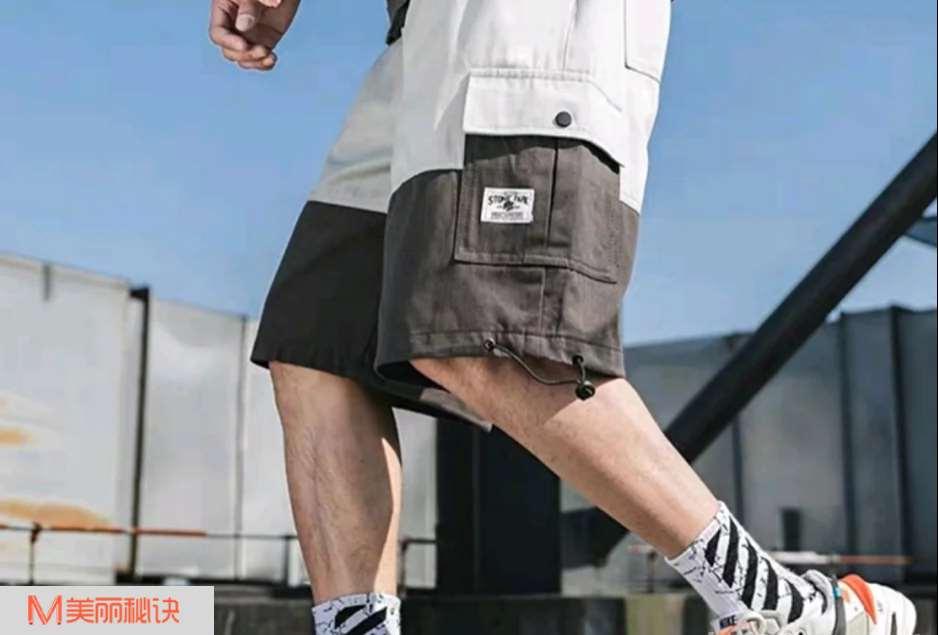 夏季潮男短裤搭配 让夏季更清凉