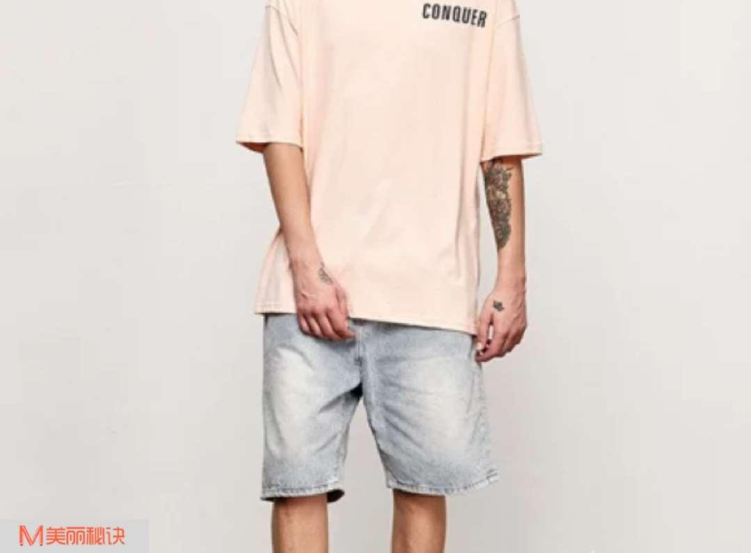 夏季潮男短裤搭配 给自己舒适的感受