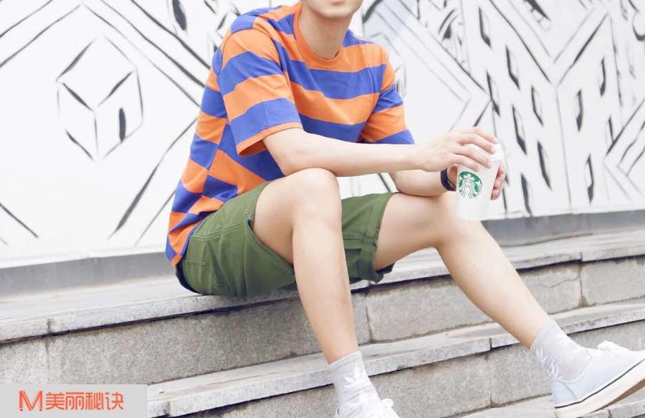 夏季男生新潮服装搭配 这些流行的元素