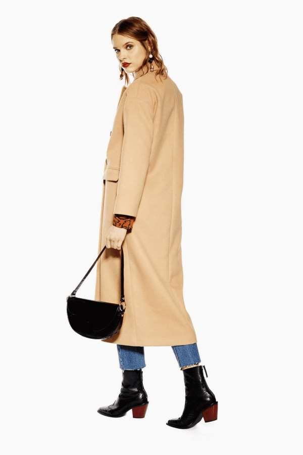 卡其色大衣搭配什么颜色的鞋子 如同摩卡咖啡般甜蜜的心思