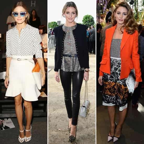奥利维亚·巴勒莫Olivia Palermo时尚名媛风格玩转四大时装周
