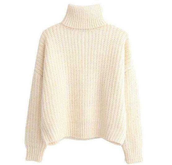 高领毛衣什么人不适合穿 穿毛衣前先瞅瞅自己的身材特征