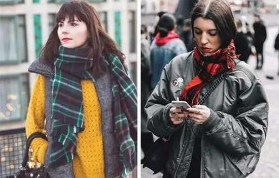 买围巾需要注意什么 新技能让你变温柔