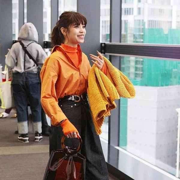 女生橘色衣服怎么搭配好看 流行的橘色千万别穿措