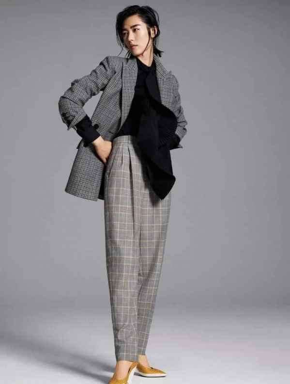 格纹裤子怎么选比较好 秋冬最火的裤子按腿型选裤型