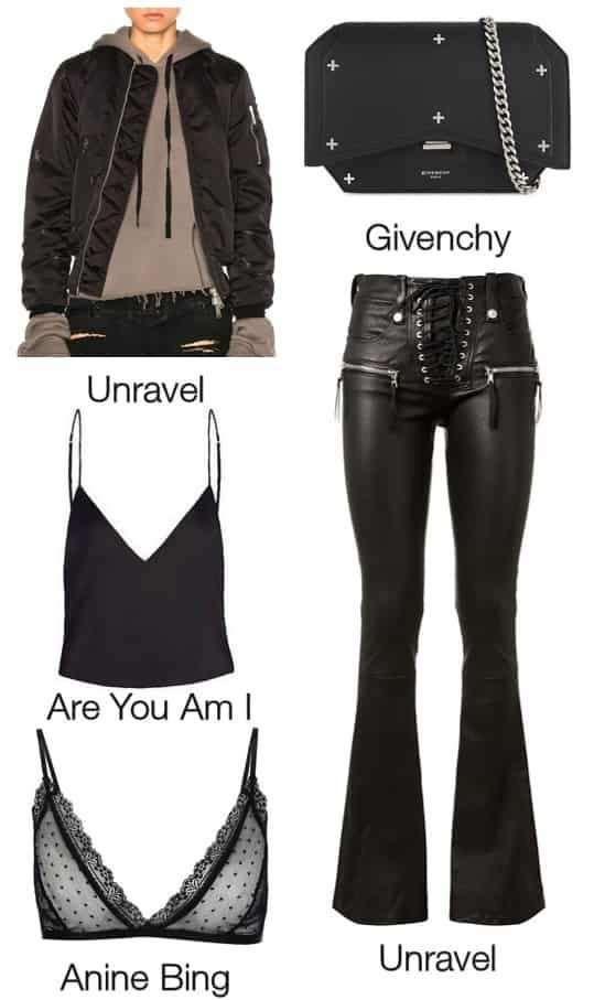 肯达尔·詹娜(Kendall Jenner)最新街拍 时尚潮流单品解析