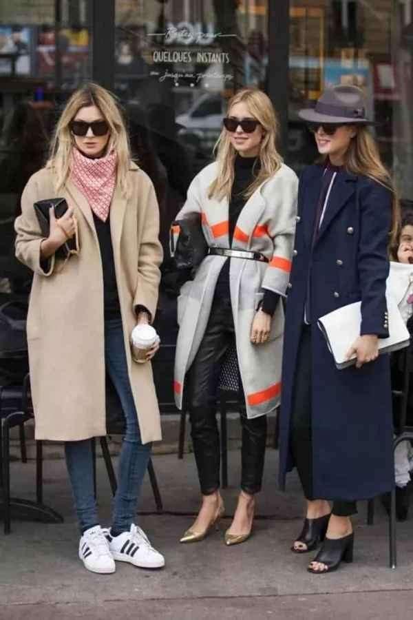 女生大衣怎么选择 长大衣这样穿150-170cm都好看