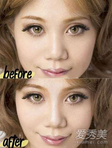 微整形化妆术:单眼皮+塌鼻子怎么化妆?