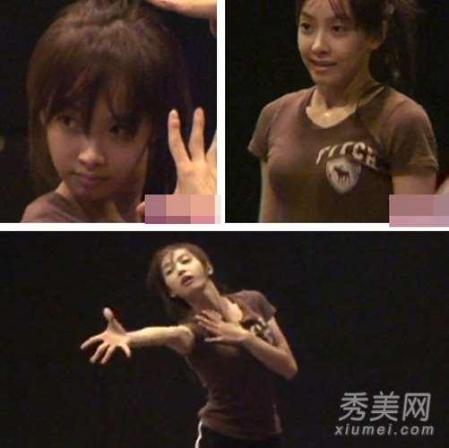 宋茜尼坤少女时代 练习生时期素颜私照