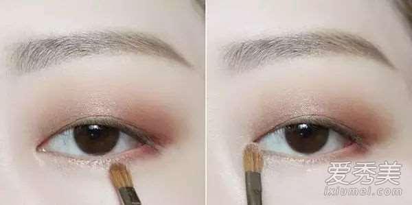 《奶酪陷阱》女主金高银 单眼皮眼妆画法