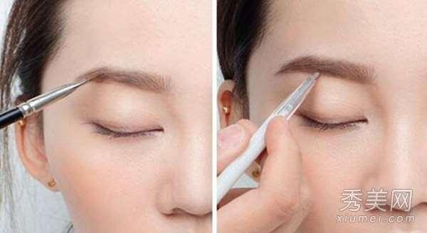 权志龙女友水原希子 帅气眉形化妆步骤