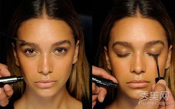 懒人化妆:唇膏代替眼影 打造伪素颜