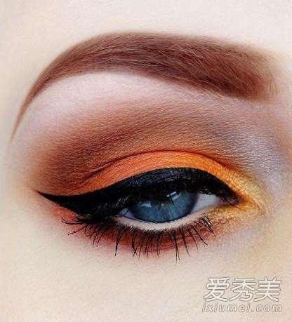 化妆误区:下眼线+眼影+眉毛画对没?