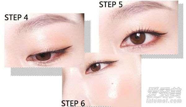 单眼皮怎么画眼线? 图解4款单眼皮眼妆画法