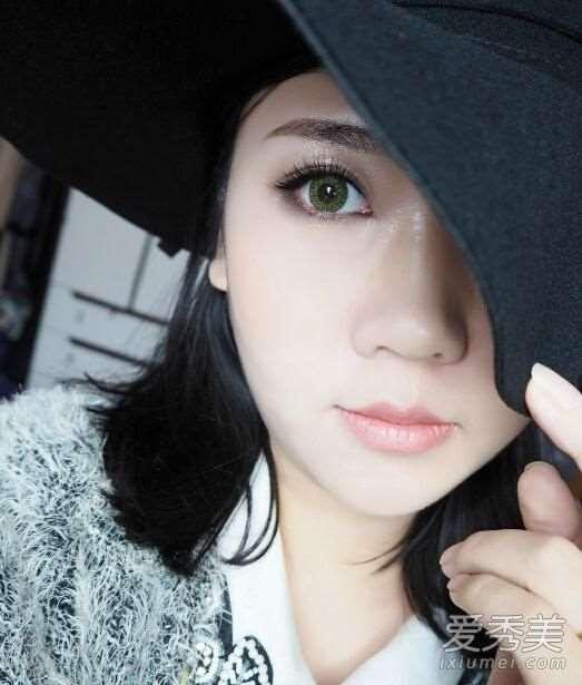 亚洲妹子化妆必学 欧美范立体大眼妆画法