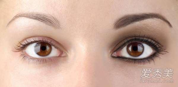 5大眼妆禁忌 全包眼线+大直径美瞳