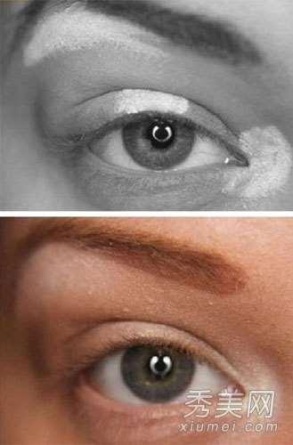 白色眼线怎么画? 打造3D效果大眼妆