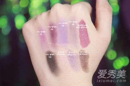 pantone流行色妆容画法步骤!