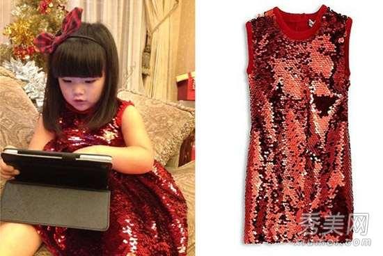 王诗龄1件衣服8000元 够森碟买40件
