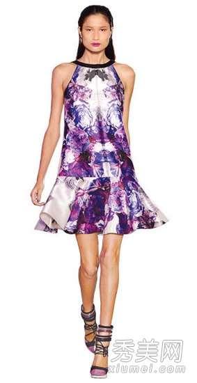 2012春夏最流行的印花裙充满春意