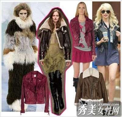 众大牌掀起皮衣时尚潮流