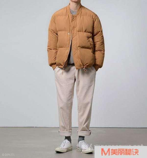 3棉衣加橙色