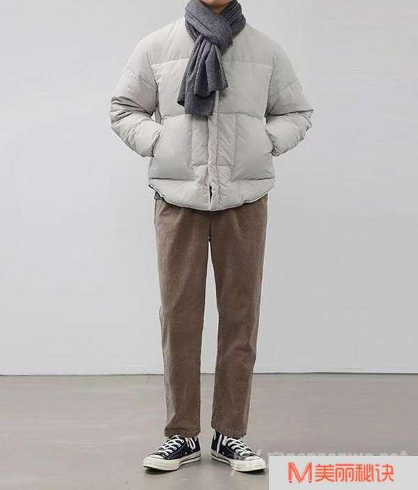 男生怎么穿棉衣才不臃肿 这4种搭配照着穿,帅气又显瘦