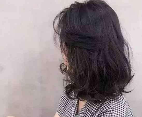 梨花头发型图片短发 今年几款只烫发尾的发型